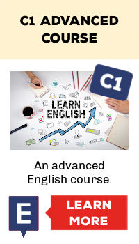 C1 advanced course. An advanced course for learning English online.